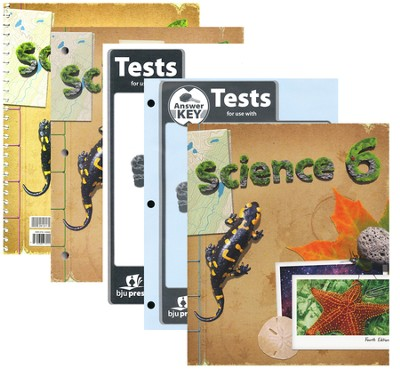 Science Grade 6 Homeschool Kit (4th Edition)   -