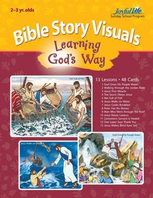 Extra Learning God's Way (ages 2 & 3) Bible Story Lesson Guide  -