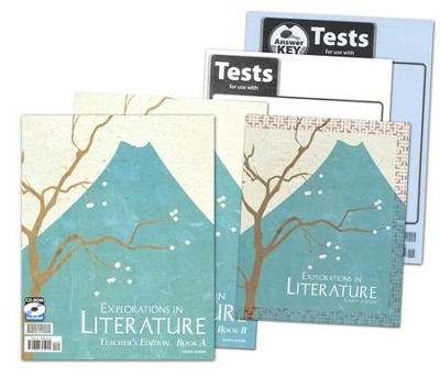 Explorations of Literature Grade 7 Homeschool Kit (4th Edition)  -
