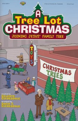A Tree Lot Christmas, Choral Book   -     By: Celeste Clydesdale, David T. Clydesdale