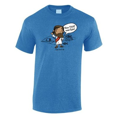 That Was Epic Shirt, Blue, X-Large   -