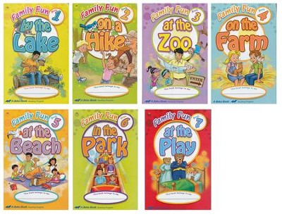 Abeka Family Fun Readers Set (7 Readers)   -