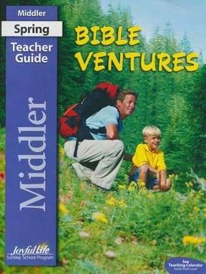 Bible Ventures Middler (Grades 3-4) Teacher Guide  (2016 Edition)  -