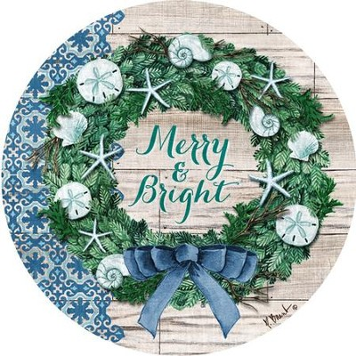Merry & Bright Magnet  -