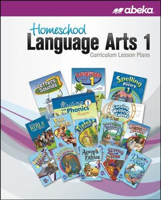 Abeka Homeschool Language Arts 1 Curriculum Lesson Plans  (New Edition)  -