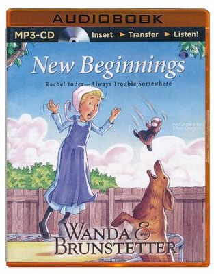 New Beginnings - Unabridged audio book on MP3-CD  -     Narrated By: Ellen Grafton     By: Wanda E. Brunstetter