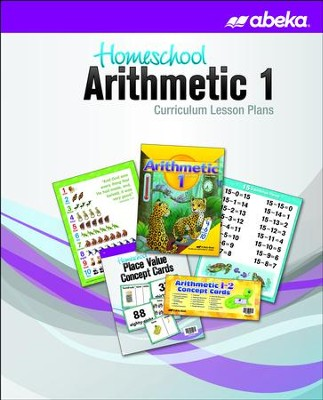 Abeka Homeschool Arithmetic 1 Curriculum Lesson Plans (New Edition)  -