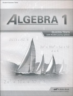 Algebra 1 Tests/Quizzes (Updated Edition)  -
