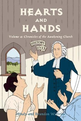 Hearts and Hands: Volume 4: Chronicles of the Awakening Church - eBook  -     By: Brandon Withrow, Mindy Withrow