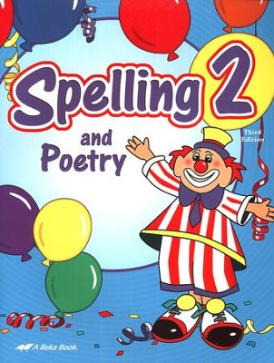 Abeka Spelling and Poetry 2, Third Edition   -