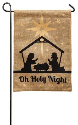 Oh Holy Night Flag, Small  -