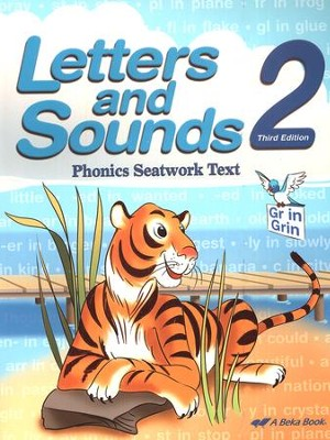 Abeka Letters and Sounds 2 Phonics Seatwork Text   -
