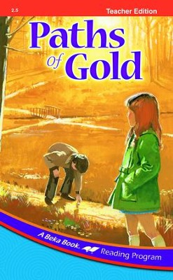 Abeka Paths of Gold Teacher Edition   -