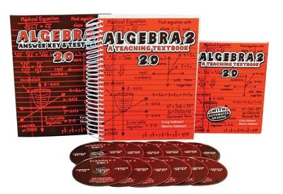 Teaching Textbooks Algebra 2 Complete Kit, Version 2.0   -     By: Greg Sabouri, Shawn Sabouri