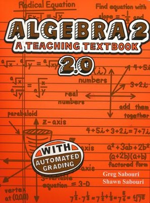 Teaching Textbooks Algebra 2 CD-Rom Set, Version 2.0   -