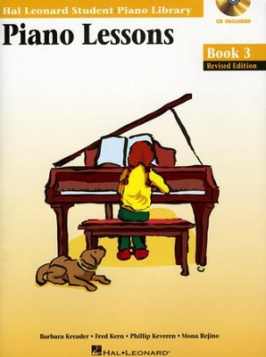 Piano Lessons-Book 3 (Book/Enhanced CD Pack)   -