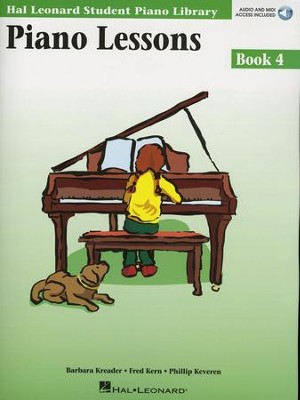 Piano Lessons-Book 4 (Book/Enhanced CD Pack)   -