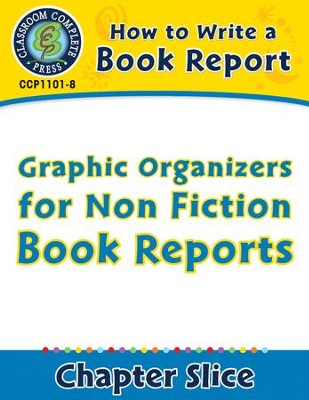 How To Write A Book Report Graphic Organizers For Non Fiction Book