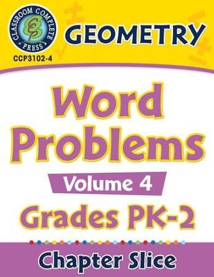 Geometry: Word Problems Vol  4 Gr  PK-2 - PDF Download [Download]