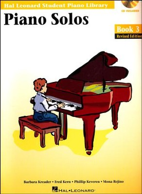 Piano Solos-Book 3 (Book/Enhanced CD Pack)   -