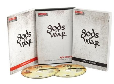 Gods At War Small Group Kit  DVD and Leader's Guide  -     By: Kyle Idleman