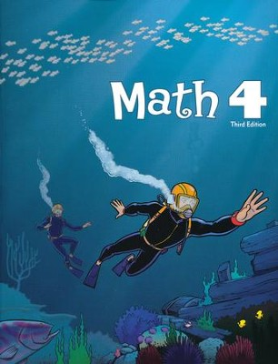 BJU Math Grade 4 Student Worktext, Third Edition (Updated  Copyright)  -