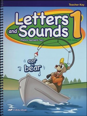 Abeka Letters and Sounds 1 Teacher Edition (New Edition)   -