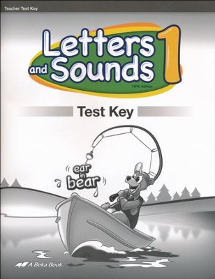 Abeka Letters and Sounds 1 Test Key (New Edition)   -