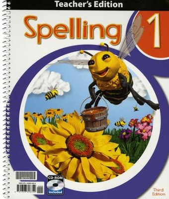 Spelling 1 Teacher's Edition (3rd Edition)   -