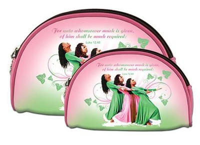 Three Ladies Cosmetic Bag Duo  -