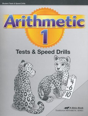 Abeka Arithmetic 1 Tests and Speed Drills (New Edition)   -