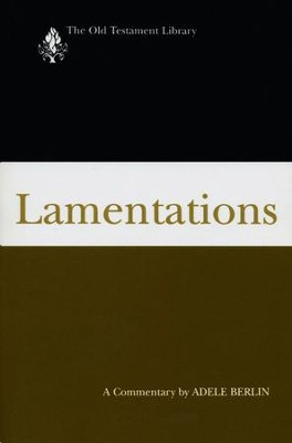 Lamentations: Old Testament Library [OTL] (Paperback)   -     By: Adele Berlin