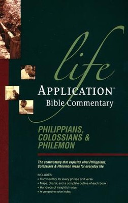 Philippians, Colossians, & Philemon: Life Application Bible Commentary   -     By: Bruce Barton