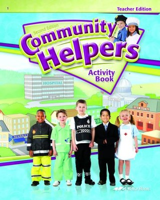Abeka Community Helpers Activity Book Teacher Edition (2nd  Edition)  -