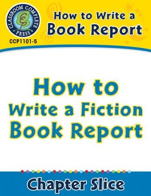 how to right a book report