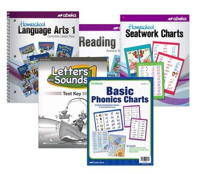 Abeka Grade 1 Homeschool Parent Language Art Kit (New  Edition)  -