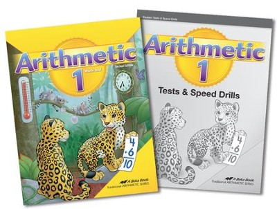 Abeka Homeschool Child Grade 1 Arithmetic Kit (New Edition)   -