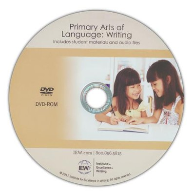 Primary Arts of Language: Writing DVD-ROM   -     By: Jill Pike