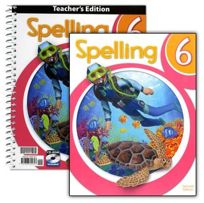 BJU Spelling Grade 6 Kit (2nd Edition)   -