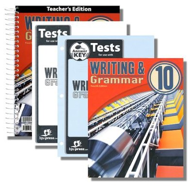 Writing & Grammar 10 Kit (4th Edition)   -
