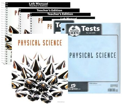 BJU Physical Science Kit (5th Edition), Grade 9    -