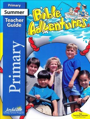 Bible Adventures Primary Teacher Guide (Grades 1-2; 2016 Edition)   -