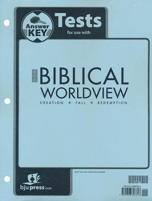 Biblical Worldview Tests Answer Key (KJV Edition)   -