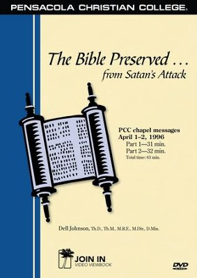 Abeka The Bible Preserved from Satan's Attack--DVD   -
