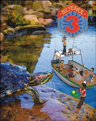BJU Press Science Grade 3 Student Text, 4th Edition  -