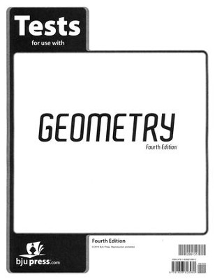 BJU Geometry Tests, Grade 10 (Fourth Edition)  -