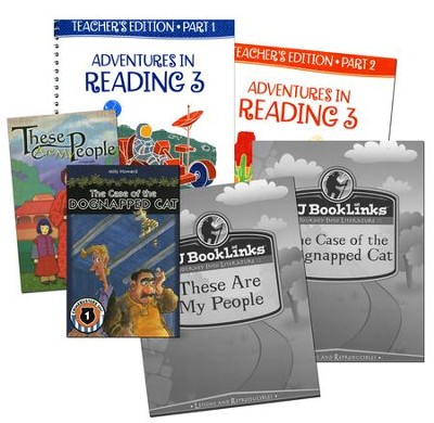 BJU Reading Grade 3 Teacher's Set (Third Edition)  -
