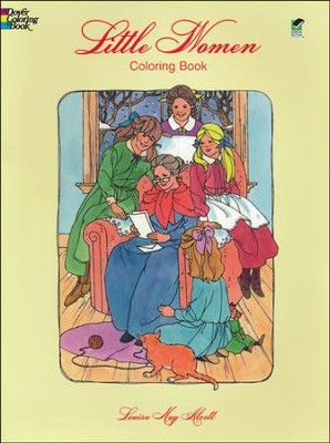 Little Women Coloring Book  -     By: Louisa May Alcott