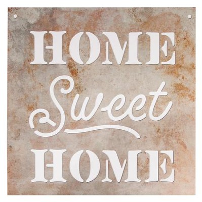 Home Sweet Home, Silhouette Sign, Large  -