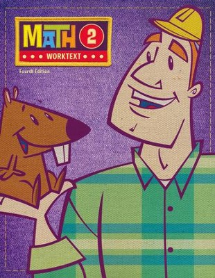 BJU Math 2 Student Worktext 4th Edition  -